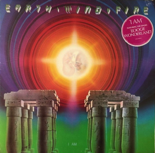 Earth, Wind & Fire ‎- I Am (LP) (VG/VG-)